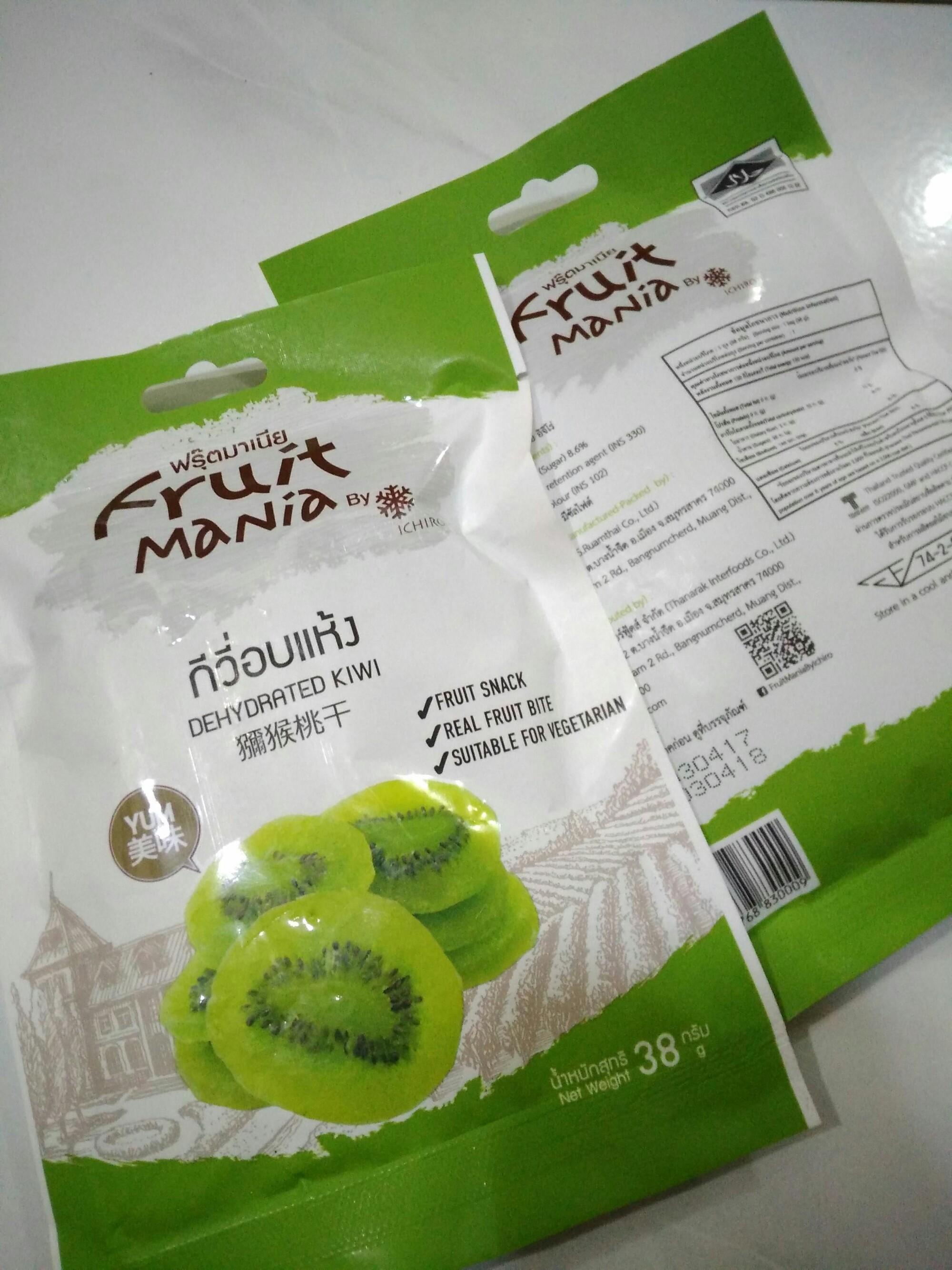 8 Thailand Snack Yang Cocok Dijadikan Oleh Sundariekowati Manisan Mangga Kering Kiwi Dan Halal Dehydrated Fruit