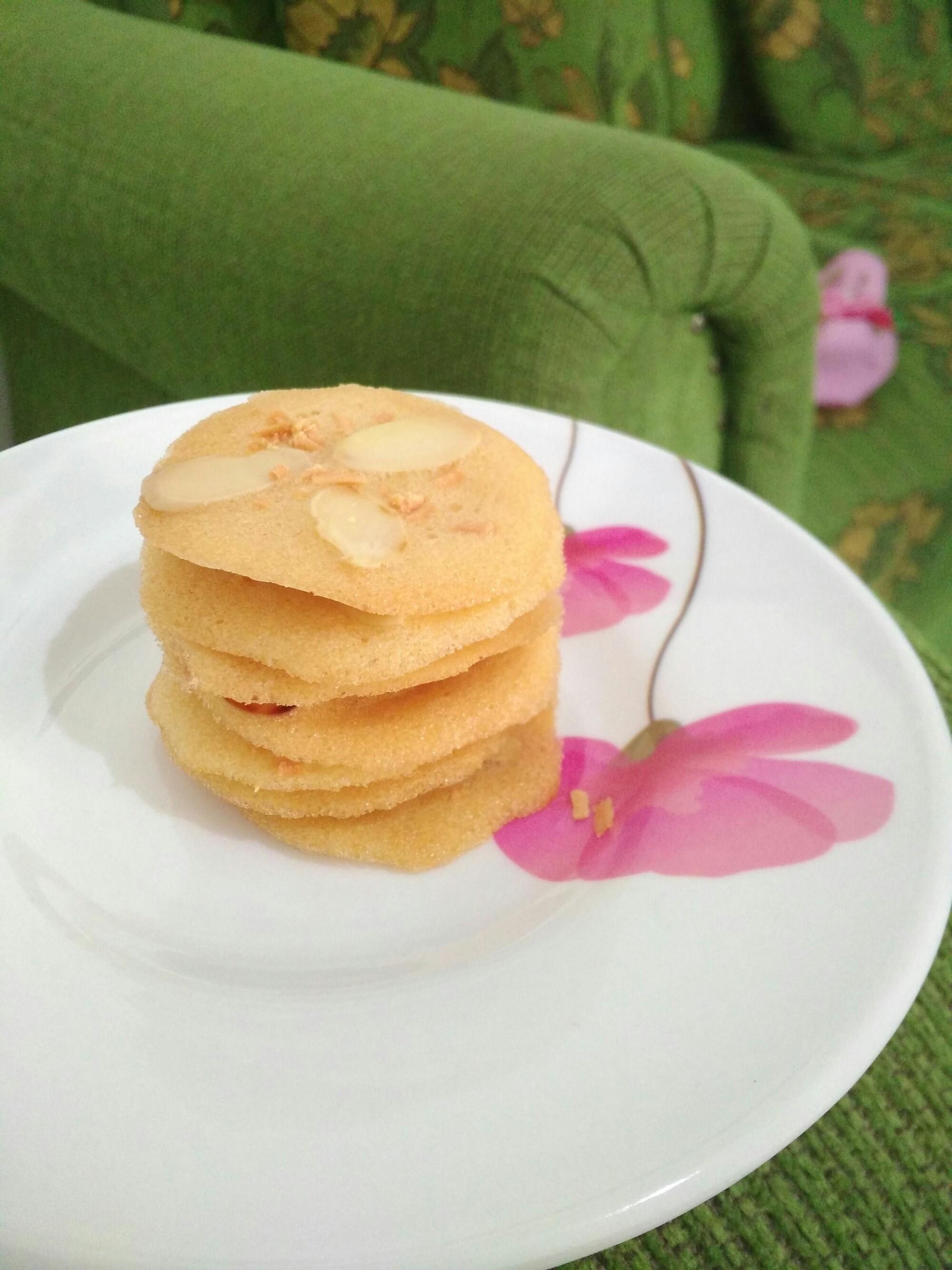 Homemade Almond Crispy Cheese By Me Sundariekowati